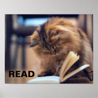 Leseplakat, zum von Bildung in den Kindern zu Poster