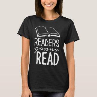 Leser, die gehen, T - Shirt zu lesen