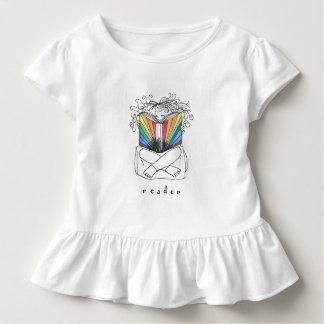 Leser-Rüsche-T-Stück Kleinkind T-shirt