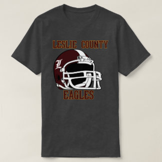 Leslie County Eagles Hyden, KY-FUSSBALL T-Shirt