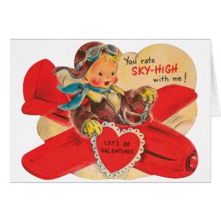 Let' s be Valentines Grußkarte