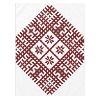 Lettischer Symbolmotiventwurf Auseklis Tischdecke