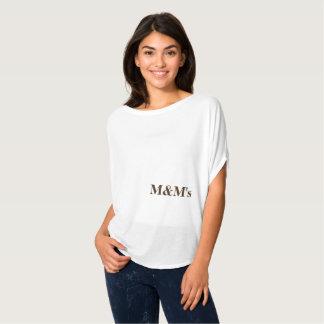 Lettres de chocolat de mentors de maternité t-shirt