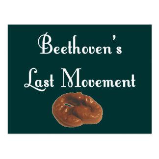 Letzte Bewegung Beethovens Postkarte