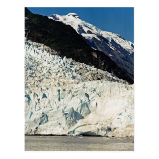Letzte Eis-Schmelze Postkarte