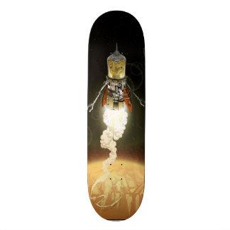 Letzter Mann auf Erde Skateboard Deck