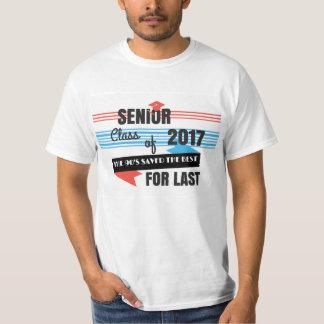 Letztes des Senior-2017 des Neunzigerjahre T-Shirt