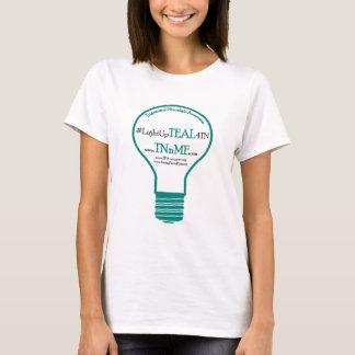 Leuchten Sie AQUAMARINEM Trigeminal4 neuralgia-T - T-Shirt