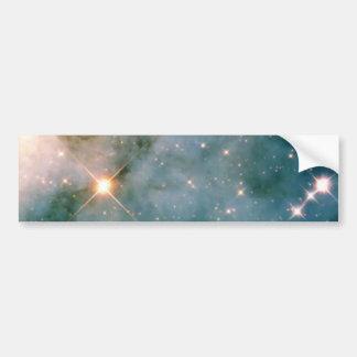 Leuchtender Carina-Nebelfleck Autoaufkleber