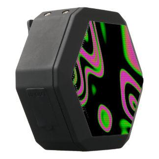 Leuchtstoff rosa grünes abstraktes schwarze bluetooth lautsprecher