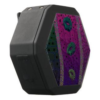 Leuchtstoff rosa Türkis-Lippensterne Schwarze Bluetooth Lautsprecher