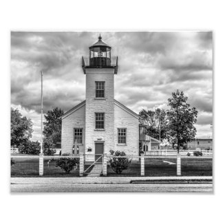 Leuchtturm - Druck Photographie