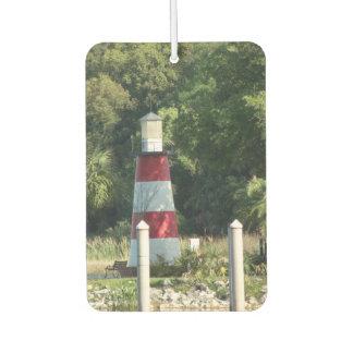 Leuchtturm-Foto-Luft-Erfrischungsmittel Autolufterfrischer