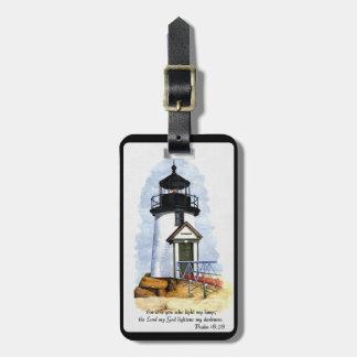 Leuchtturm-Gepäckanhänger Gepäckanhänger