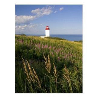 Leuchtturm in St Martins, New-Brunswick, 2 Postkarte