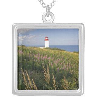Leuchtturm in St Martins, New-Brunswick, 2 Versilberte Kette