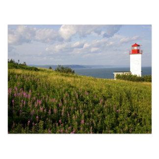 Leuchtturm in St Martins, New-Brunswick, Postkarte