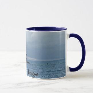 Leuchtturm-Kaffee-Tasse Mackinac Insel, Michigan Tasse