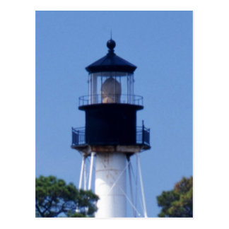 Leuchtturm Kap-Sans Blas Postkarte