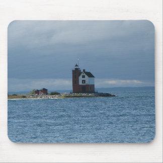 Leuchtturm-Mausunterlage Mackinac Insel, Michigan Mousepad