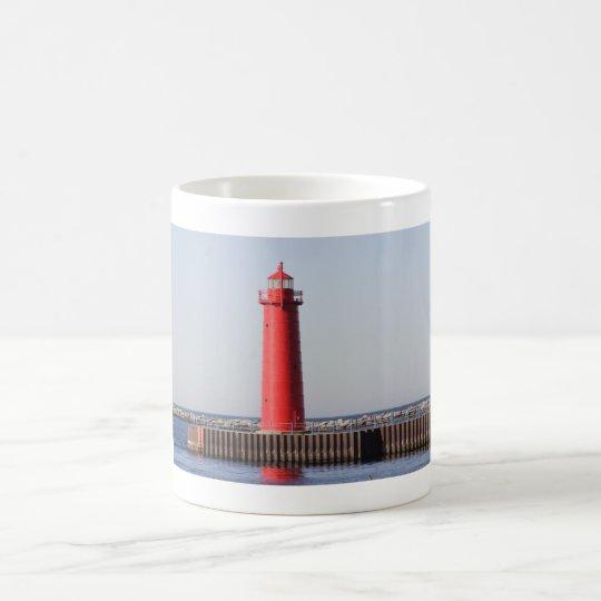 Leuchtturm Muskegon, Michigan Kaffeetasse