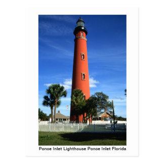 Leuchtturm-Postkarte Postkarte