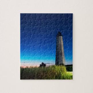 Leuchtturm-Punkt New-Haven, Connecticut
