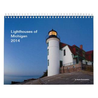 Leuchttürme von Michigan 2014 Abreißkalender