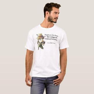 Leute mögen Pflanzen männlich T-Shirt