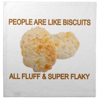Leute sind wie Kekse Stoffserviette