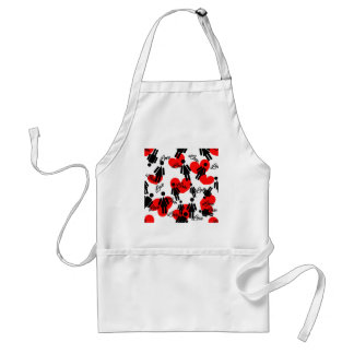 Leute-u. des Herz-reizenden Valentinsgrußes Muster Schürze
