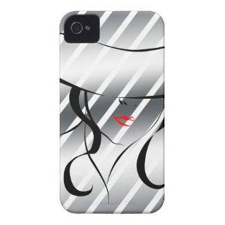 Lèvres rouges coque iPhone 4 Case-Mate
