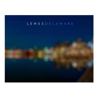 Lewes Delaware Postkarte