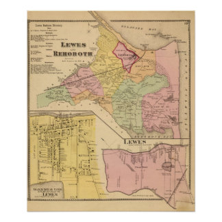 Lewes und Rehoboth Poster
