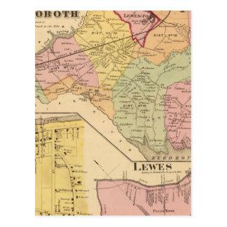 Lewes und Rehoboth Postkarte