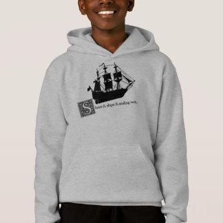 Lewis Carroll/Schuhe u. Schiffe/lbs Hoodie