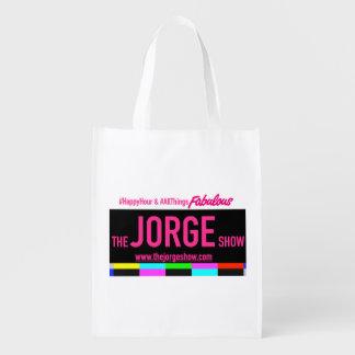 L'exposition Fourre-tout réutilisable de Jorge Sacs D'épicerie Réutilisables