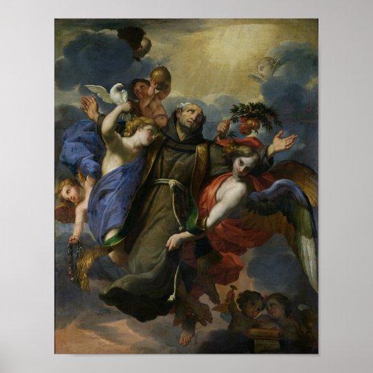 L'extase de St Peter d'Alcantara