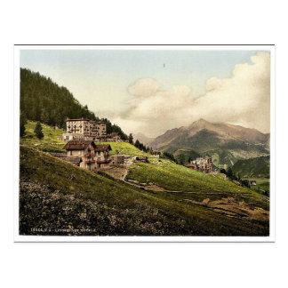 Leysin, die Hotels, NAND, Bezirk von, die Schweiz Postkarte