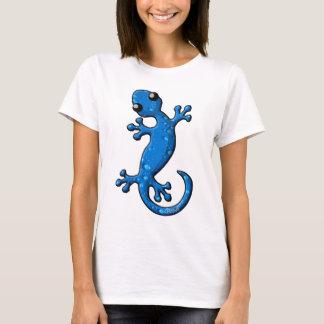 Lézard bleu de Gecko de pluie T-shirt
