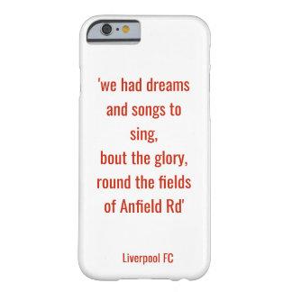 LFC Telefonkasten - die Felder auf Anfield Rd Barely There iPhone 6 Hülle
