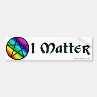 LGBT Heideangelegenheit Autoaufkleber