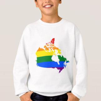 LGBT Kanada Flagge Sweatshirt