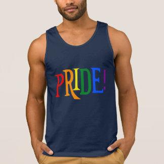 LGBT Regenbogen-Stolz Trägershirt Tank Top
