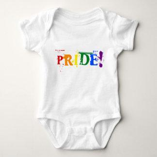 LGBT Regenbogenstolz Säuglings-Strampler Baby Strampler