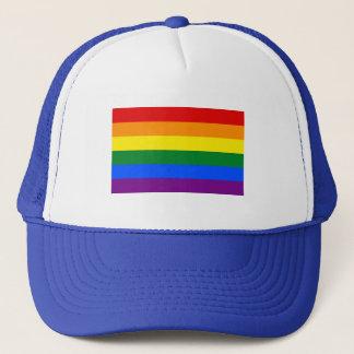 LGBT Stolz-Fernlastfahrer-Hut Truckerkappe