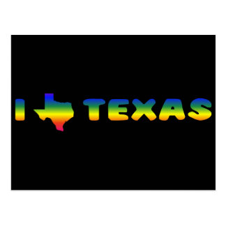 LGBT Texas Stolz Postkarte