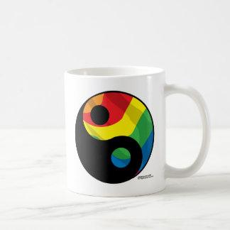 LGBT Ying Yang Kaffeetasse