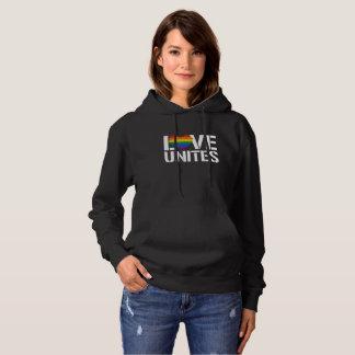 LGBTQ LIEBE VEREINIGT - - LGBTQ berichtigt - - Hoodie