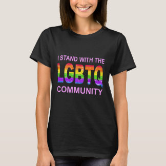 LGBTQ Regenbogen-Stolz-T-Stück T-Shirt
